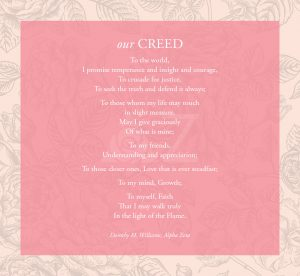 Delta Zeta Creed