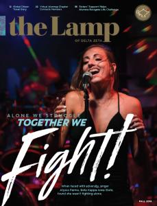 Lamp Fall 2018 Cover